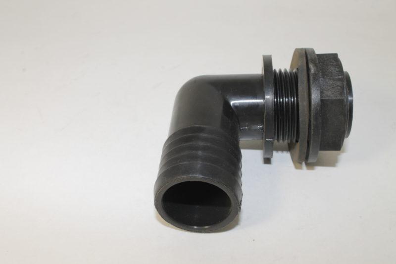 Фитинг угловой проходной с резьбовым соединением d 32мм