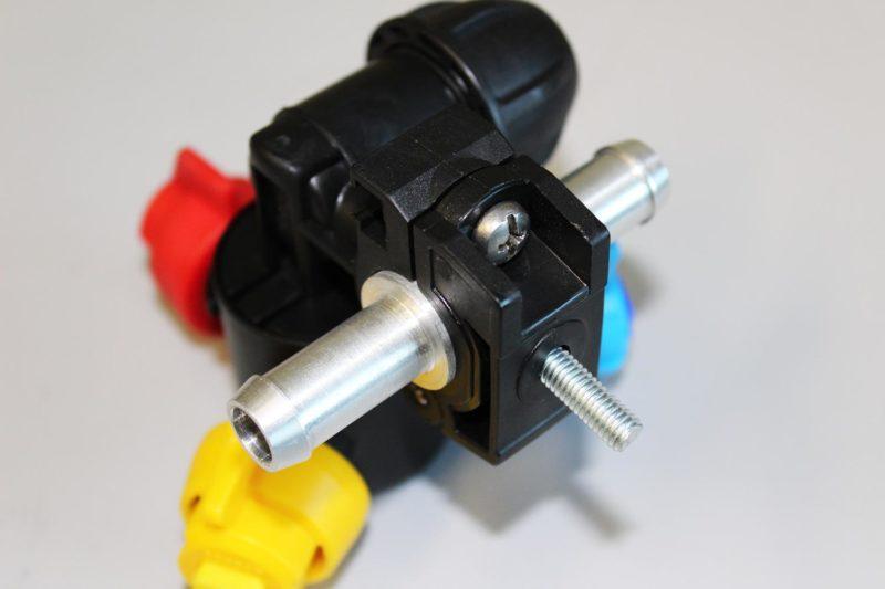 Отсечное устройство 3-х позиционное D20мм, F10 проходное