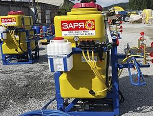 Оборудование для обработки магистральных газопроводов от сорной растительности